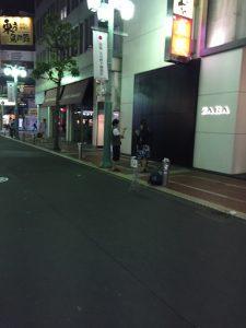新宿のストリートマジシャン 2019/5/26