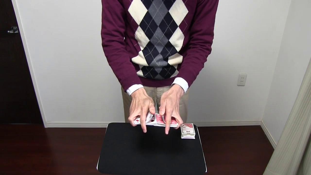 カードマジック動画 トライアンフ (スタンディング) / Card magic Movie Triumph (Standing)