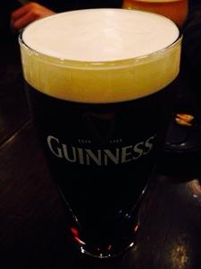新年会でギネスビール