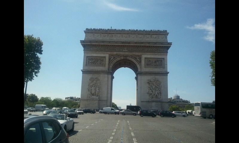 Paris 凱旋門
