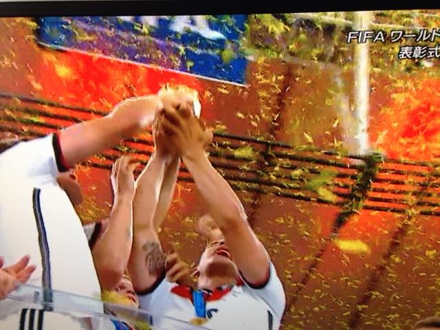 ワールドカップ終了