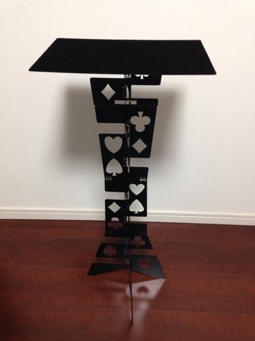 Folding Table – Metal – Black