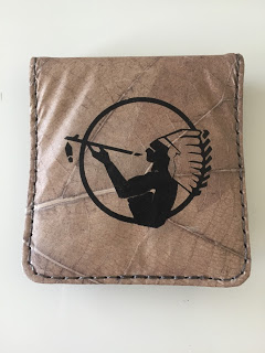 ナチュラル アメリカン スピリットのセブン-イレブン落ち葉携帯灰皿付きキャンペーンの灰皿裏面