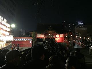 2016年初詣新宿花園神社