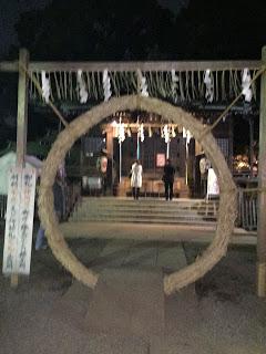 代々木八幡神社に初詣