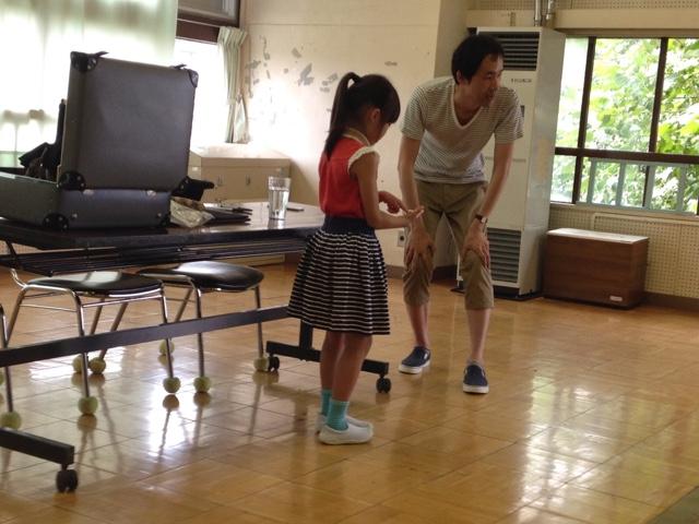 子供会の夏休みお楽しみ会でマジシャンが2回目の出張 派遣マジックショー in 東京都国立市