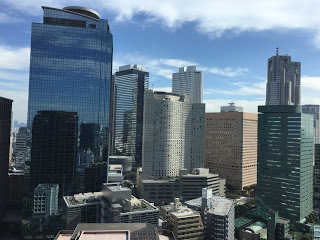 西新宿のビル群 / マジシャンひろしつちや
