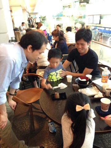 羽田空港 アッパーデッキトウキョウ6周年 記念イベントにマジシャン出演