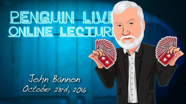 John Bannon LIVE (Penguin LIVE)