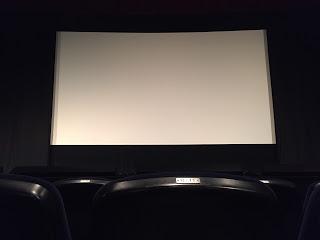 テアトル新宿のスクリーン