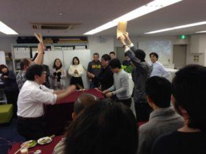 企業の新事務所披露パーティーにマジシャン出張 派遣マジックショー in 東京都渋谷区