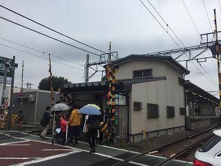 東急大井町線の九品仏(くほんぶつ)駅 / マジシャンえいち