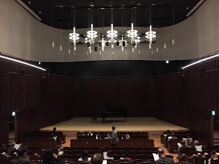 浦安音楽ホール 1Fから撮影