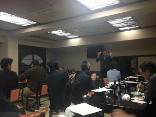 企業の新年会で出張 マジシャンレモン&アボカド / マジシャンひろしつちや