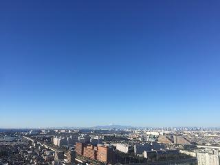 新浦安から富士山