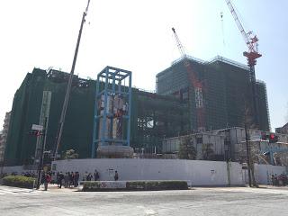 建て替えの渋谷区役所