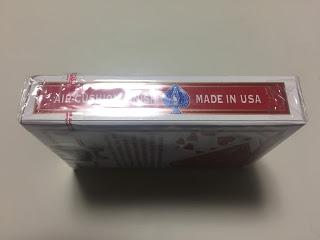 新品のバイシクルデック 横 開封テープ