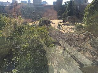早稲田リーガロイヤル東京 中庭