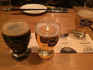 よなよなのビールを試飲 東京ブラックなど