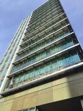 新しく建て替えられた渋谷区役所