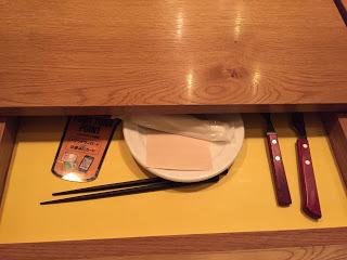 よなよなのテーブルの引き出し