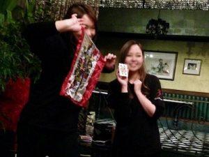 企業の忘年会でマジシャンのマジックショー / Magician magic show at company year-end party