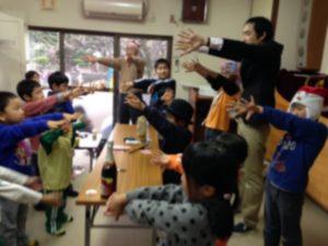子供習字教室でマジックショー6