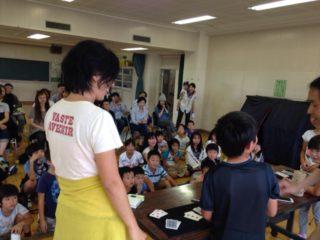 子供会のイベントでマジシャンの子供向けマジックショー 場所は小学校