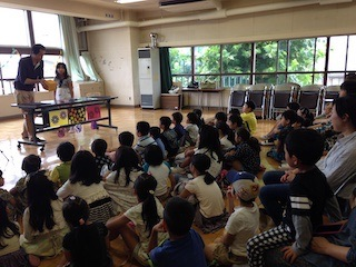 小学校でマジックショー / Magic show at elementary school