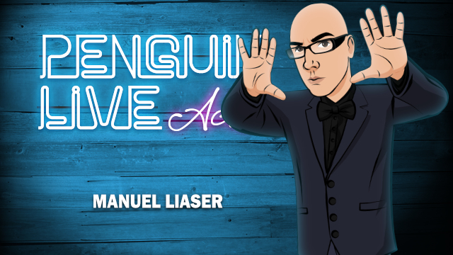 Manuel Llaser LIVE ACT (Penguin LIVE)