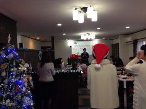 いすみサロンのクリスマスパーティーで出張 派遣マジックショー in 千葉県いすみ市