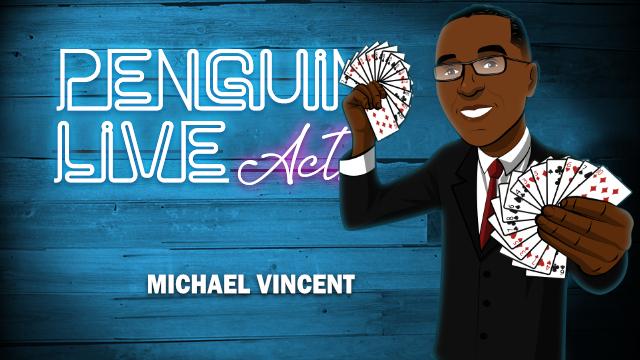 Michael Vincent LIVE ACT (Penguin LIVE)