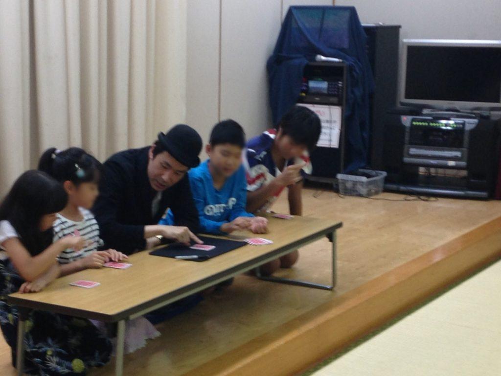 子ども会のイベントにマジシャン出張 派遣のマジックショー 東京都墨田区
