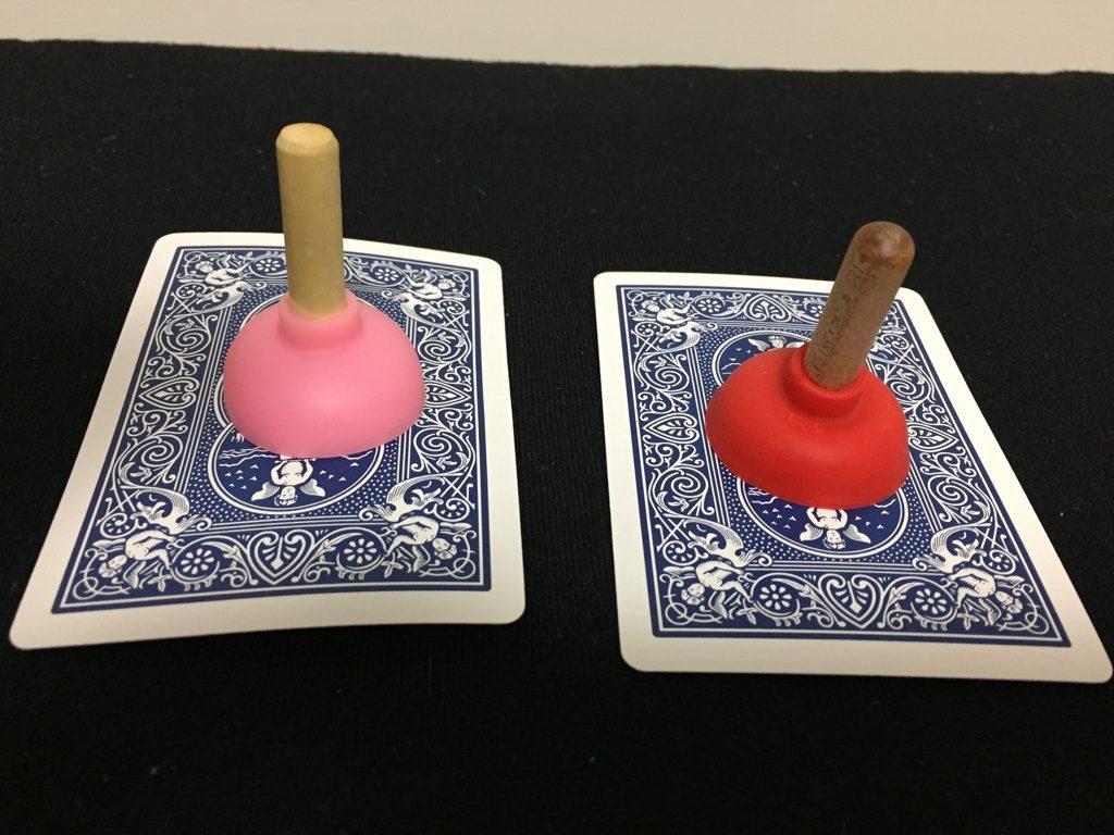 プランジャーの吸い付きの比較