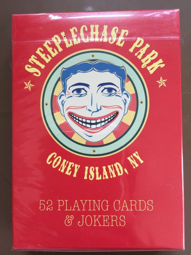 Steeplechase Park Playing Cards 1