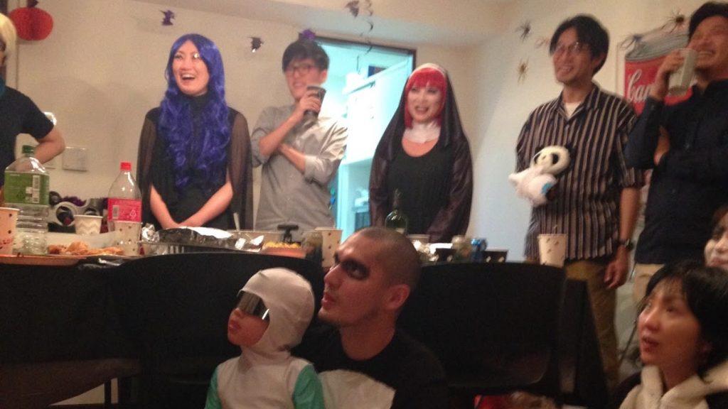 ハロウィーンホームパーティーへマジシャン出張・派遣