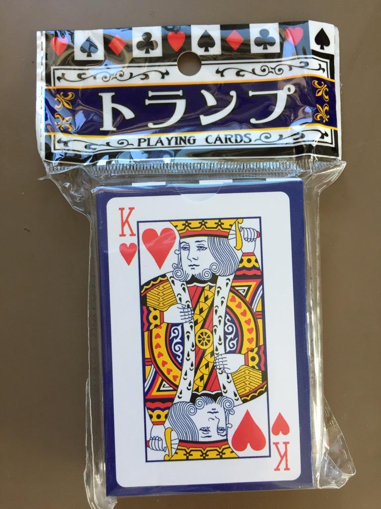 キャンドゥ(Can★Do)の紙製 パッケージトランプカード
