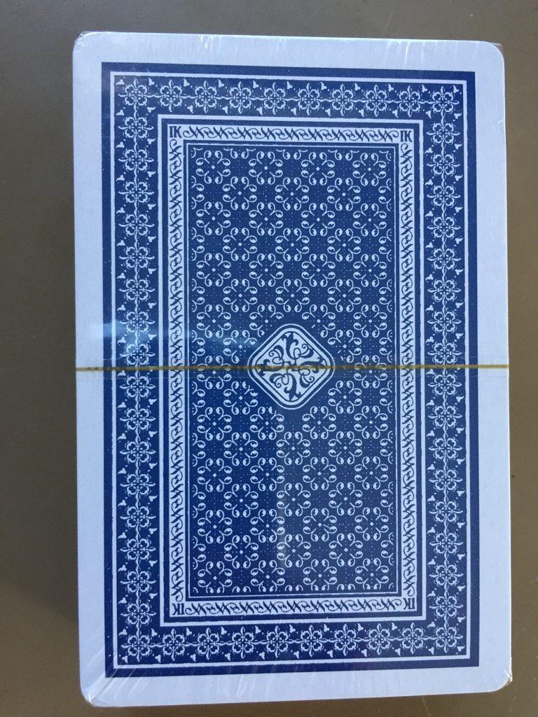 キャンドゥ(Can★Do)の紙製トランプカード セロファン裏