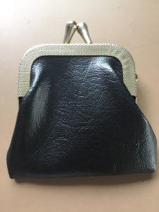 マジシャンのがま口の財布