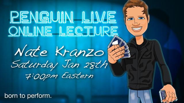Nathan Kranzo LIVE (Penguin LIVE)