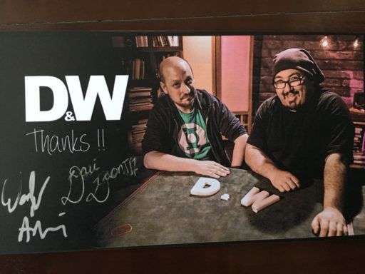 D&W by Grupokaps サイン