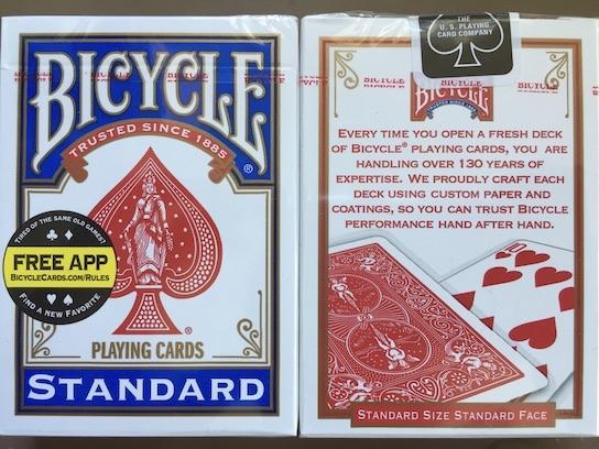 マジシャンがよく使うトランプバイシクルカード