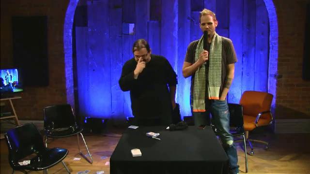 Dani DaOrtiz penguin live 2013 MC Nate Kranzo