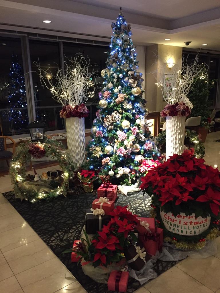 グリーンヒルのクリスマスツリー