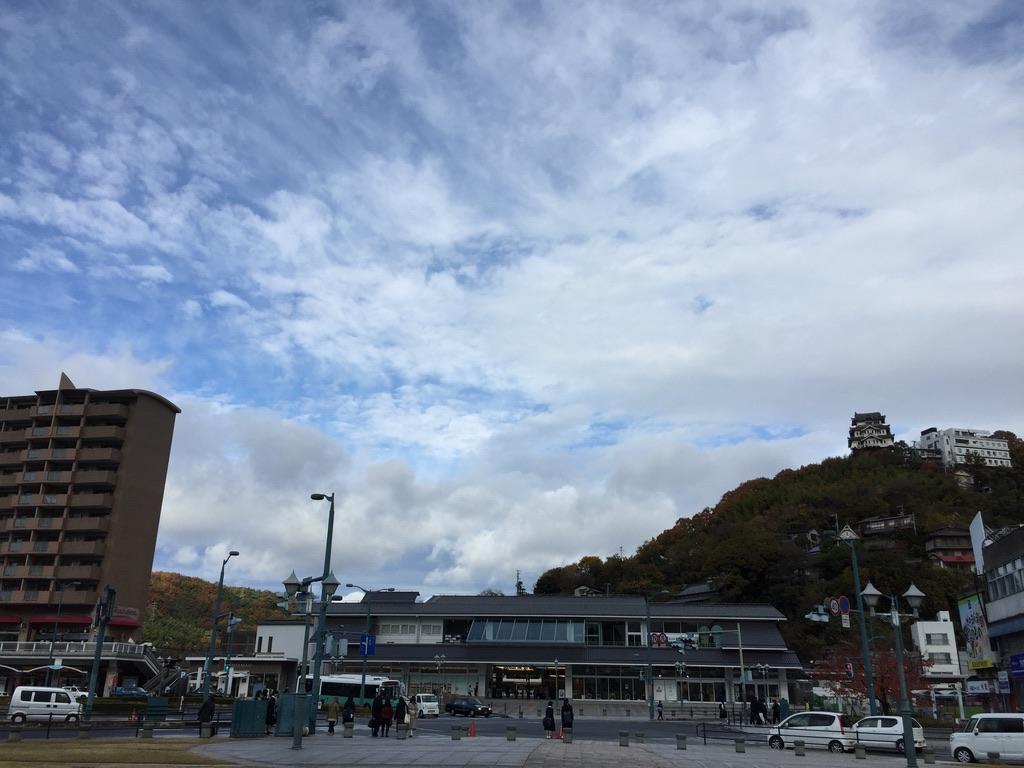 新しくなっていたJRの尾道駅