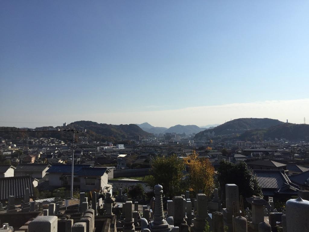 新尾道のお寺さんのお墓