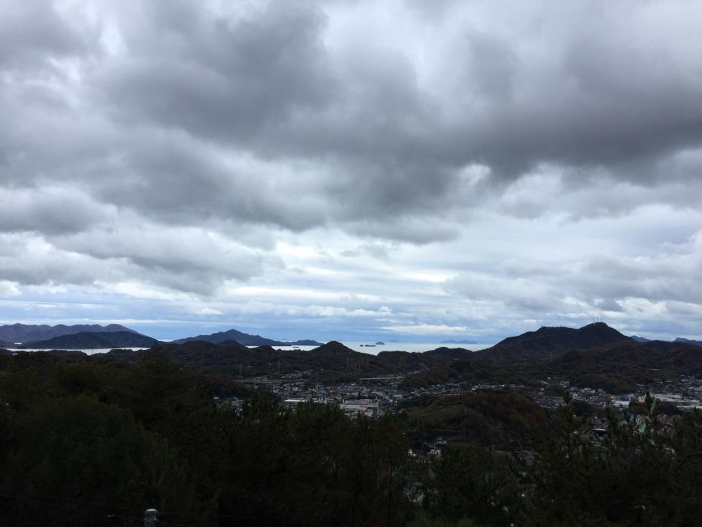 千光寺山頂からの眺め