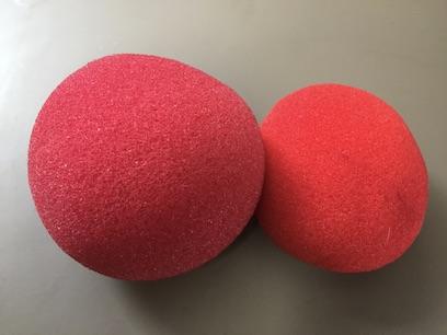 マジシャンが使うスポンジボール 日本製とアメリカ製