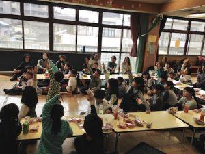 子供会の進級お祝い会