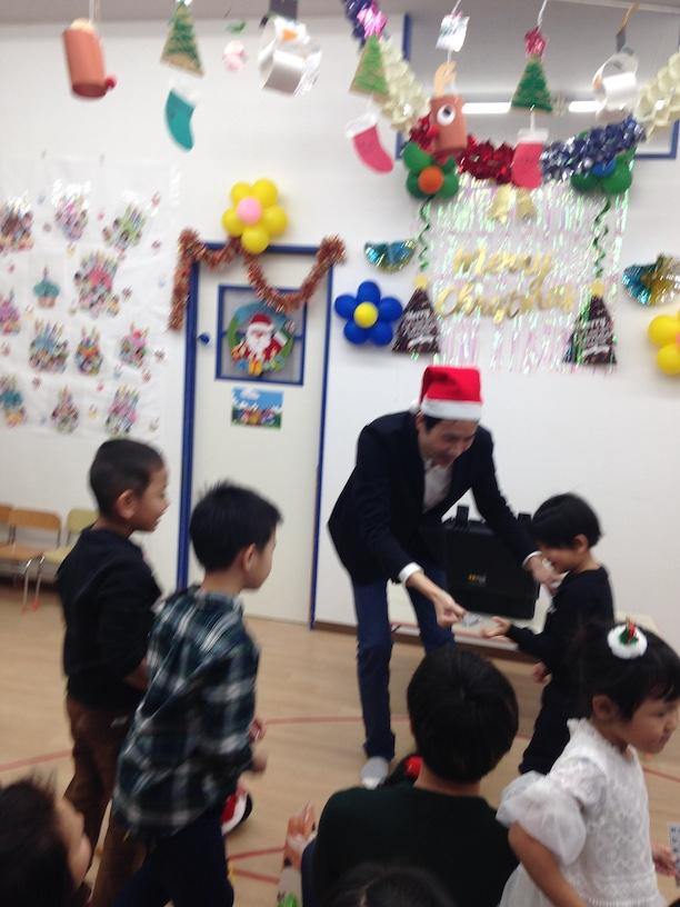 イングリッシュスクールイマジンJAPAN南行徳児童園のクリスマスパーティー 思ったカード